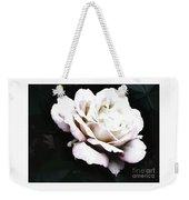 White Rose,stylization Weekender Tote Bag