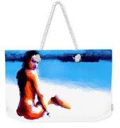 White Sand Weekender Tote Bag