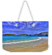 White Sands Beach Weekender Tote Bag