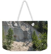 White Sands Cliff Weekender Tote Bag