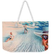 White Sands Family Weekender Tote Bag