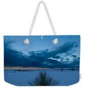White Sands Moonrise Weekender Tote Bag