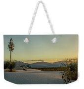 White Sands Sunset Weekender Tote Bag