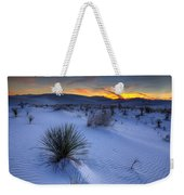 White Sands Sunset Weekender Tote Bag