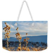 White Sands Yucca Row Weekender Tote Bag