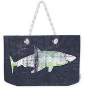 White Shark- Art By Linda Woods Weekender Tote Bag