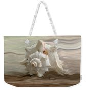 White Shell Weekender Tote Bag