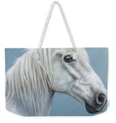 White Stallion Weekender Tote Bag