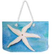White Starfish Weekender Tote Bag