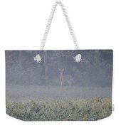 White Tail Deer Weekender Tote Bag