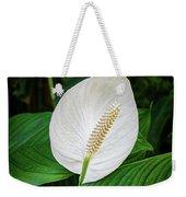 White Tail-flower Weekender Tote Bag