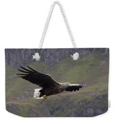 White-tailed Eagle Approaches Weekender Tote Bag