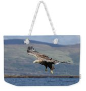 White-tailed Eagle Over Loch Weekender Tote Bag