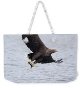 White-tailed Eagle With Catch Weekender Tote Bag