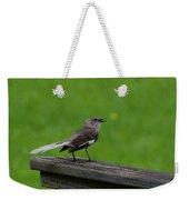 White Tailed Mocking Bird Weekender Tote Bag