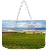 White Tails In The Field Weekender Tote Bag
