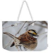 White Throated Sparrow 2 Weekender Tote Bag