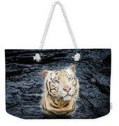 White Tiger 20 Weekender Tote Bag