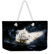 White Tiger 21 Weekender Tote Bag