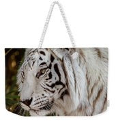 White Tiger Portrait 2 Weekender Tote Bag