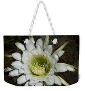 White Torch Cactus  Weekender Tote Bag