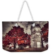 White Tower Of Autumn Weekender Tote Bag