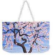 White Tree, Painting Weekender Tote Bag