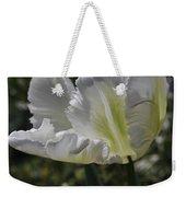 White Tulip 1 Weekender Tote Bag