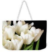White Tulips 1 Weekender Tote Bag