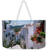White Village Of Frigiliana Andalucia., Spain Weekender Tote Bag