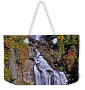 White Water Falls Weekender Tote Bag