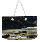 White Water River - Lijiang Weekender Tote Bag
