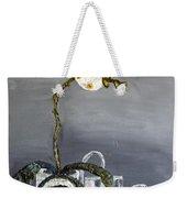 White Wild Orchid Weekender Tote Bag