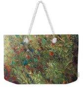 White Wildflowers-2 Weekender Tote Bag