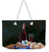 White Wine Weekender Tote Bag