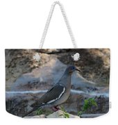 White Winged Dove Weekender Tote Bag