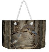 White-winged Dove - Nesting Weekender Tote Bag