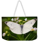 White Wings Of Wonder Weekender Tote Bag