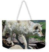 White Wolf 1 Weekender Tote Bag