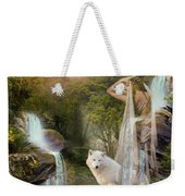 White Wolf Falls Weekender Tote Bag