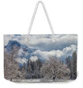 White Yosemite Weekender Tote Bag