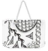 White Zen 15 Weekender Tote Bag