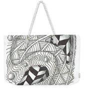 White Zen 18 Weekender Tote Bag
