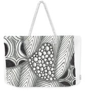 White Zen 19 Weekender Tote Bag