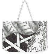 White Zen 21 Weekender Tote Bag