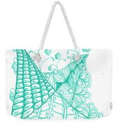 White Zen 26 Weekender Tote Bag