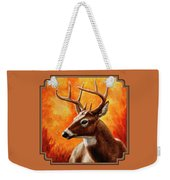 Whitetail Buck Portrait Weekender Tote Bag