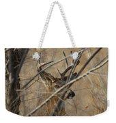 Whitetail Buck Square Weekender Tote Bag