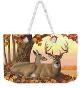 Whitetail Deer - Hilltop Retreat Weekender Tote Bag