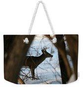Whitetail Deer Threw The Trees Weekender Tote Bag